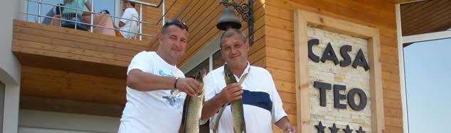 Pensiunea Casa Teo - Delta Dunarii
