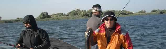 Pescuit Delta Dunarii - pensiunea Casa Teo