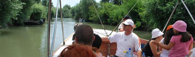 Trasee turistice Delta Dunarii - Casa Teo